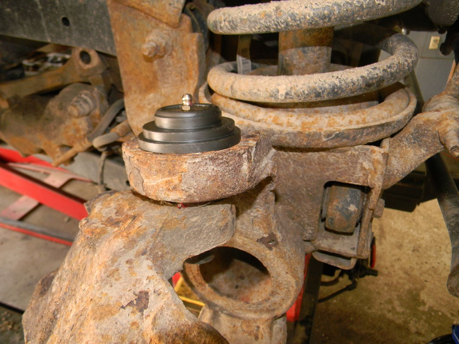 New XRF Greaseable Ball Joints - Dodge Diesel - Diesel Truck Resource Forums
